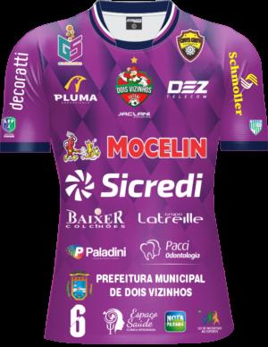 Camisa Galo Futsal 2021 Oficial – Infantil Roxo