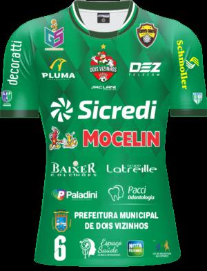Camisa Galo Futsal 2021 Oficial – Infantil Verde