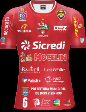 Camisa Galo Futsal 2021 Oficial – Infantil Vermelha